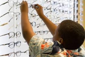 Selection of Eyeglasses in Santa Cruz