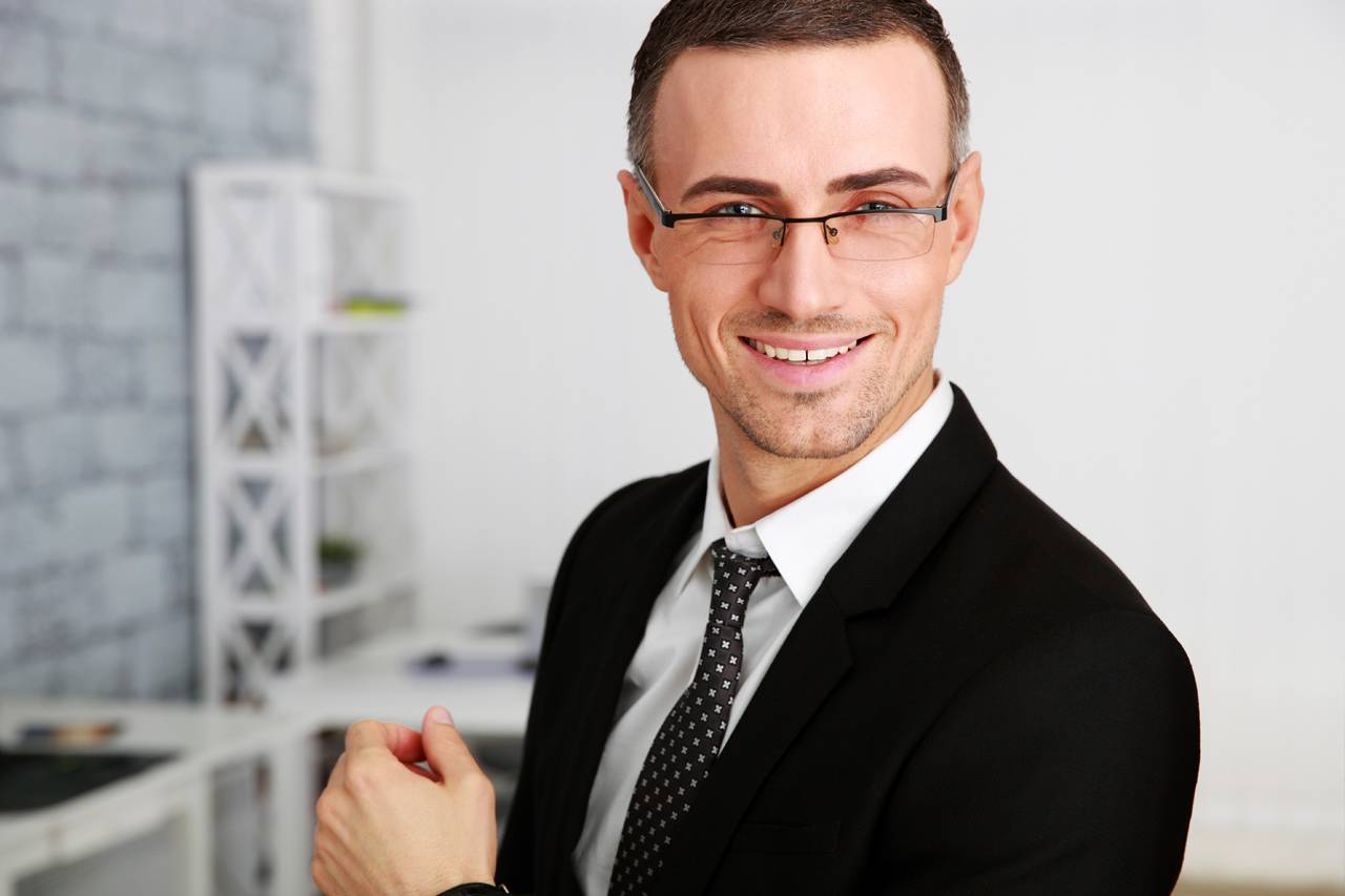 smiling_professional_man background