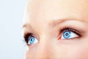 eyes female blue