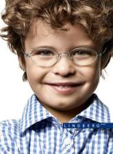 blond boy with glasses