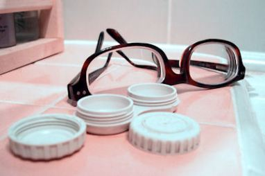 contact lenses at Cincinnati eye doctor