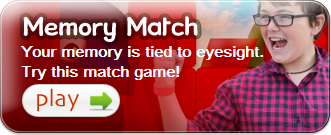 kids vision memory match