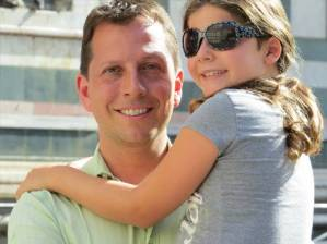 dad with daughter - Ortho-K East Brunswick NJ