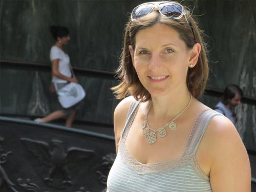 woman sunglasses posing