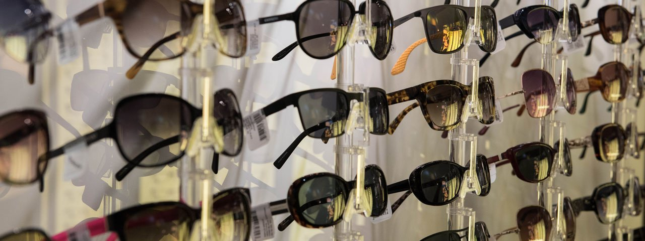 Sunglasses Wall Display 1280x480